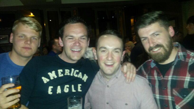 Raffle Night in O'Neills!