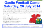 Cardiff Gaelic Football Camp